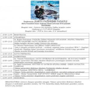 Konferencijos 2016 programa